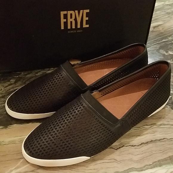 Frye Shoes | Melanie Perforated Slip On